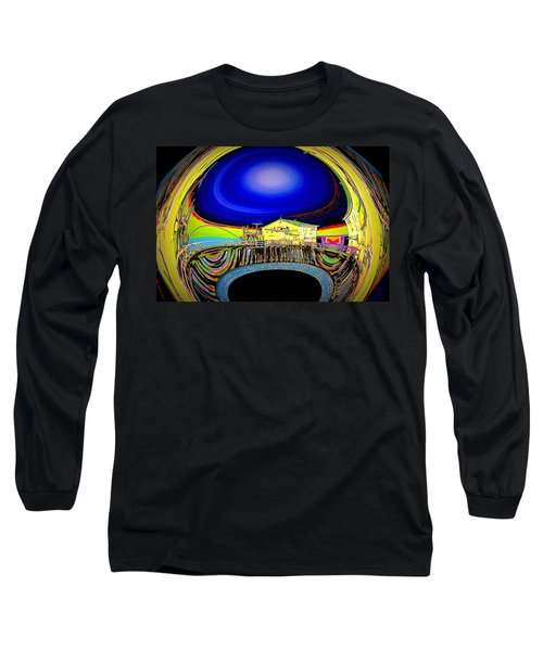 All Aboard  Long Sleeve T-Shirt by Nick David