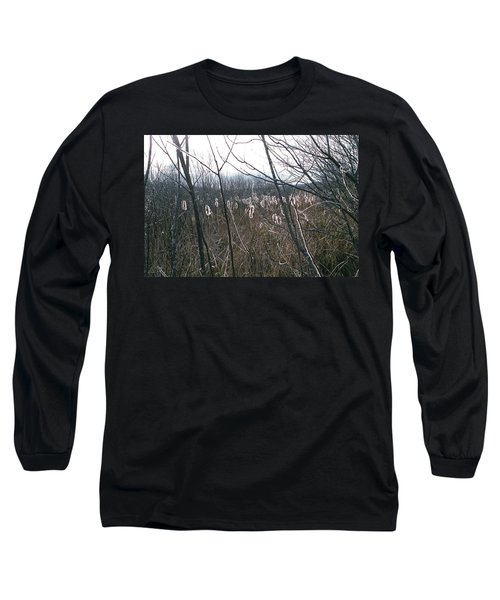 Long Sleeve T-Shirt featuring the photograph All Aglow by David Porteus