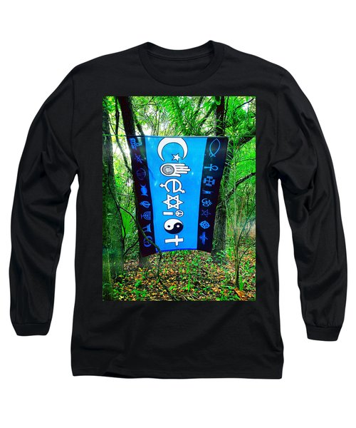 All Are One Long Sleeve T-Shirt by Carlos Avila