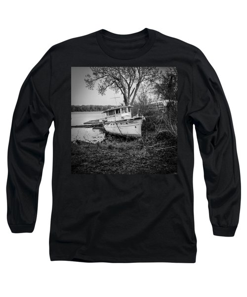 All Ashore Long Sleeve T-Shirt by Ray Congrove