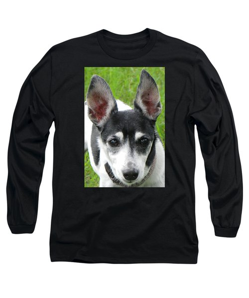 Long Sleeve T-Shirt featuring the photograph All Ears by Rosalie Scanlon