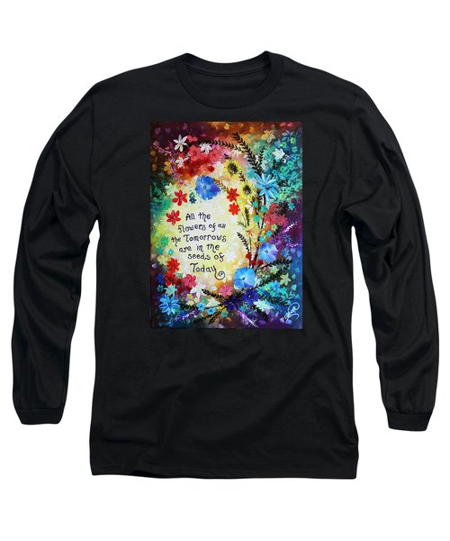 All The Flowers Long Sleeve T-Shirt