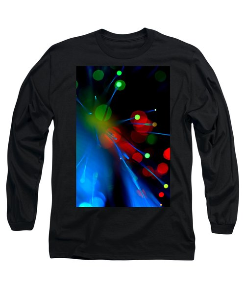 All Through The Night Long Sleeve T-Shirt by Dazzle Zazz
