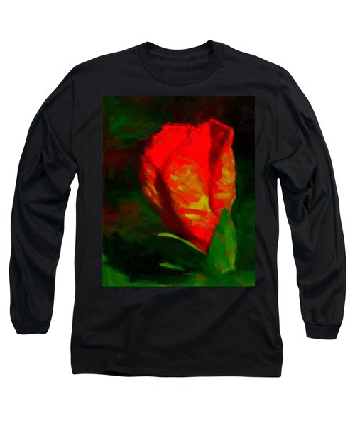 Long Sleeve T-Shirt featuring the painting All Went Wrong by Joe Misrasi