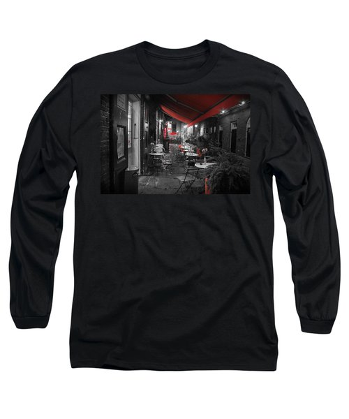 Alley Cafe Long Sleeve T-Shirt