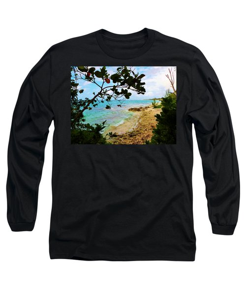 Long Sleeve T-Shirt featuring the photograph Almond View by Amar Sheow