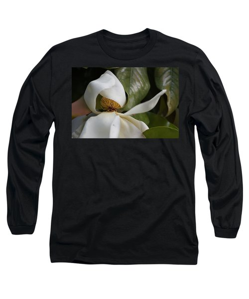 Almost Open Long Sleeve T-Shirt