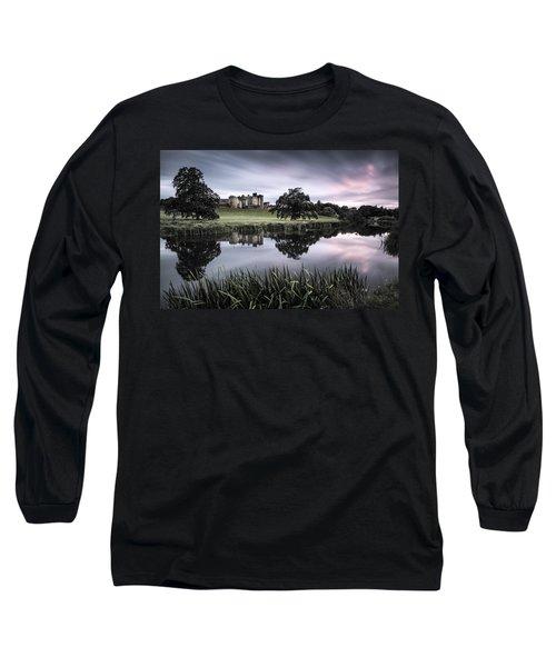 Alnwick Castle Sunset Long Sleeve T-Shirt