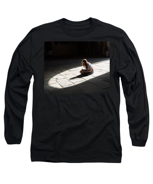 Alone In A Pool Of Light Long Sleeve T-Shirt