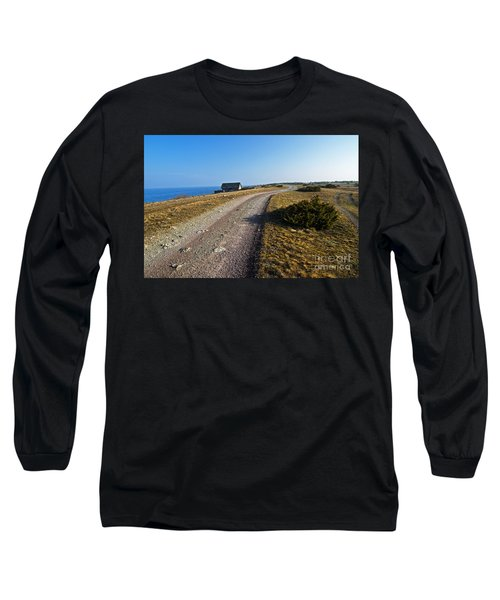 Long Sleeve T-Shirt featuring the photograph Along The Coast Of Baltic Sea by Kennerth and Birgitta Kullman