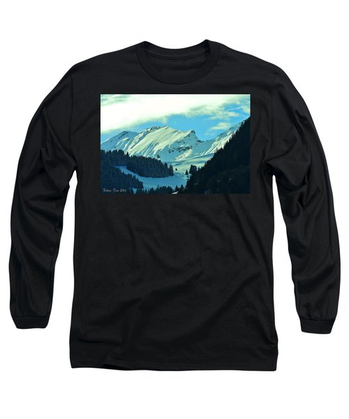 Alps Green Profile Long Sleeve T-Shirt
