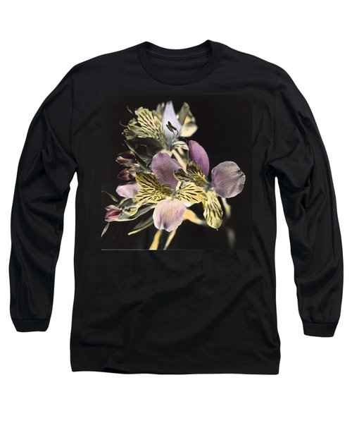 Alstroemeria Long Sleeve T-Shirt by Lana Enderle