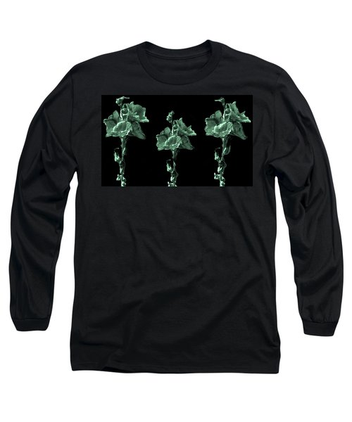 Amazing Flowers Long Sleeve T-Shirt by Manjot Singh Sachdeva