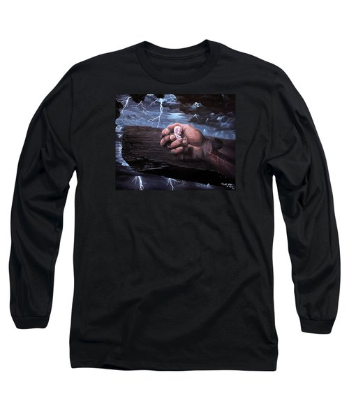 Amazing Grace Long Sleeve T-Shirt by Bill Stephens