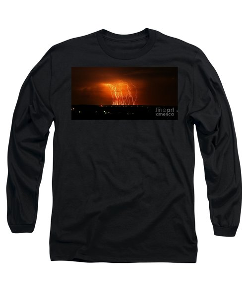Amazing Lightning Cluster Long Sleeve T-Shirt