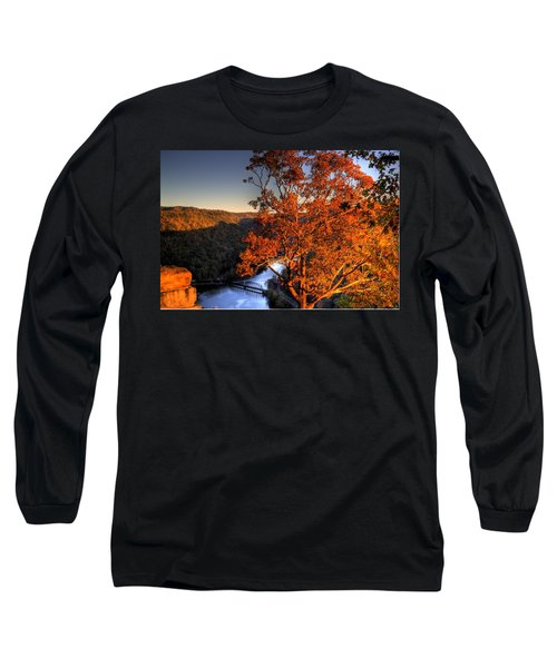 Amazing Tree At Overlook Long Sleeve T-Shirt by Jonny D