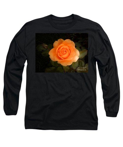 Amber Flush Rose Long Sleeve T-Shirt