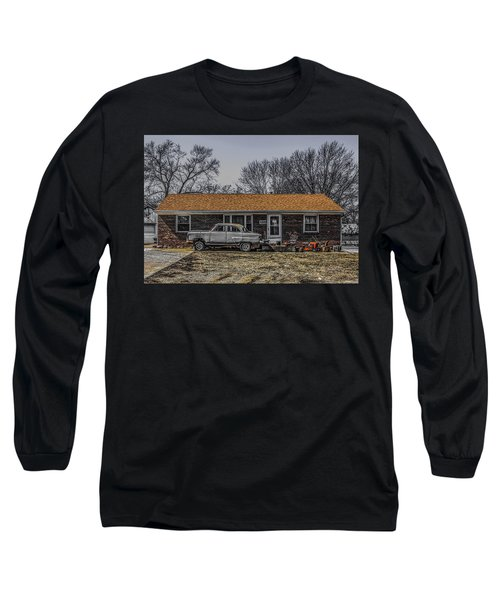 American Dream 1952 Long Sleeve T-Shirt by Ray Congrove