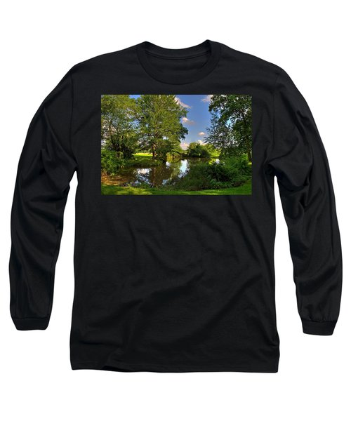 American Farm Pond Long Sleeve T-Shirt
