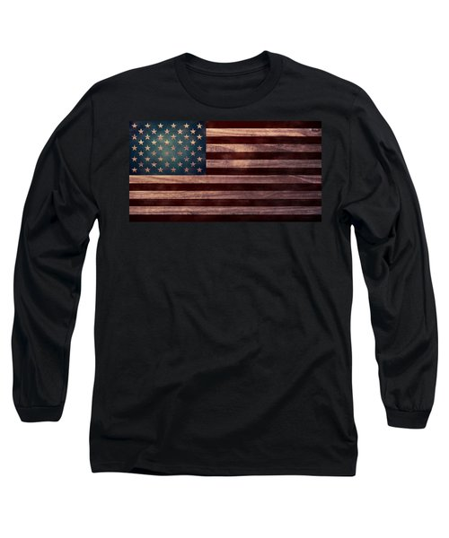 American Flag I Long Sleeve T-Shirt