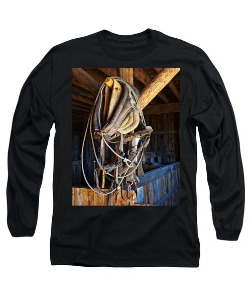 Long Sleeve T-Shirt featuring the photograph American History by Jim Garrison