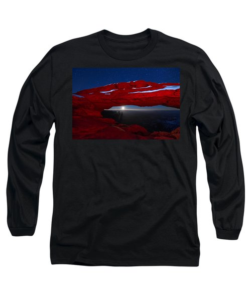 American Moonrise Long Sleeve T-Shirt