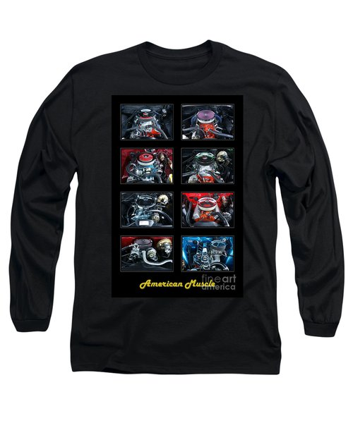 American Muscle Long Sleeve T-Shirt