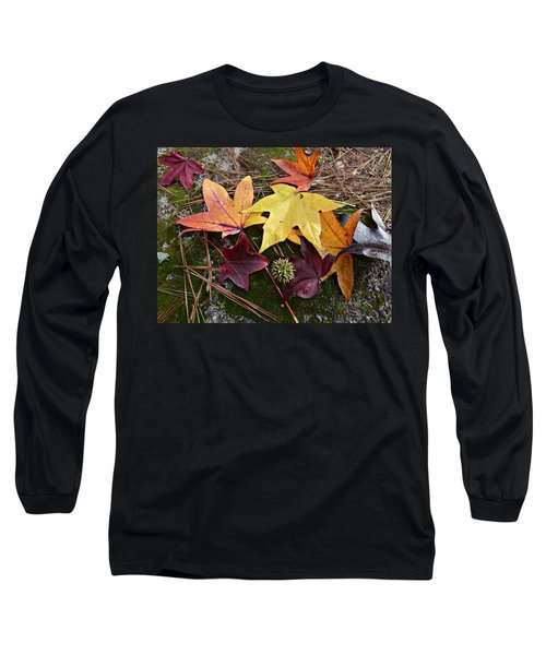 Autumn Long Sleeve T-Shirt by William Tanneberger