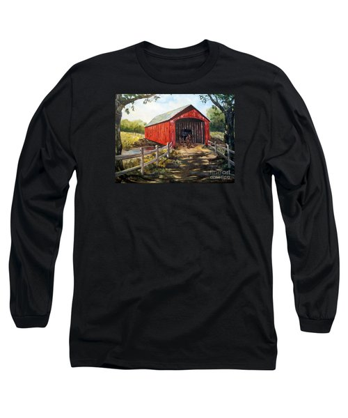 Amish Country Long Sleeve T-Shirt by Lee Piper