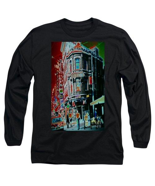 Amsterdam Abstract Long Sleeve T-Shirt