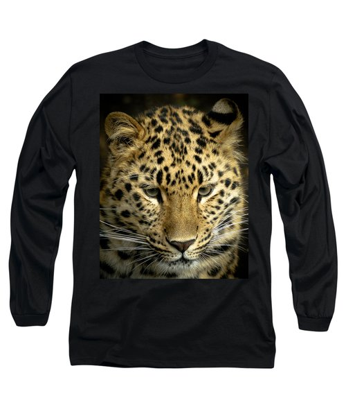 Amur Leopard Long Sleeve T-Shirt
