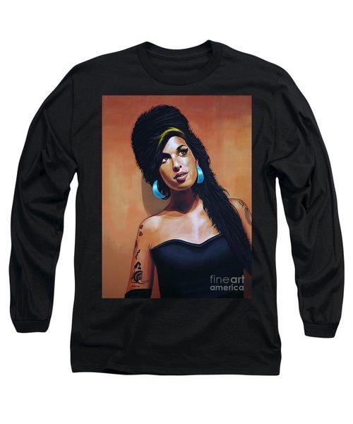 Amy Winehouse Long Sleeve T-Shirt