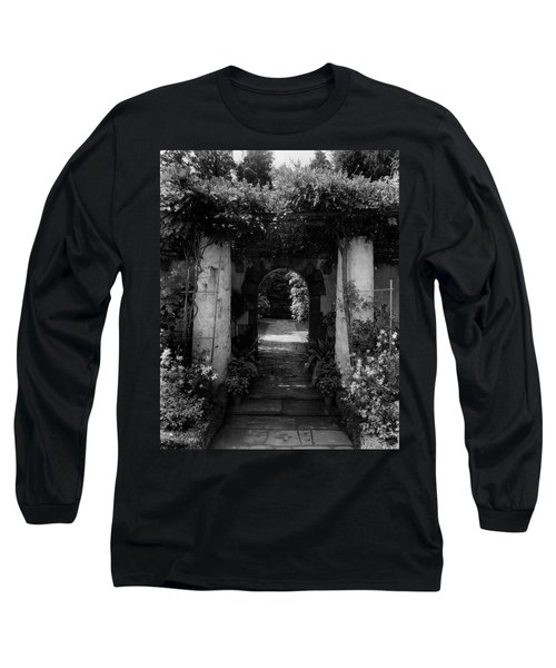 An Archway In The Garden Of Mrs. Carl Tucker Long Sleeve T-Shirt