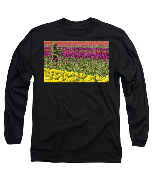 An Arm Full Of Beauty Long Sleeve T-Shirt