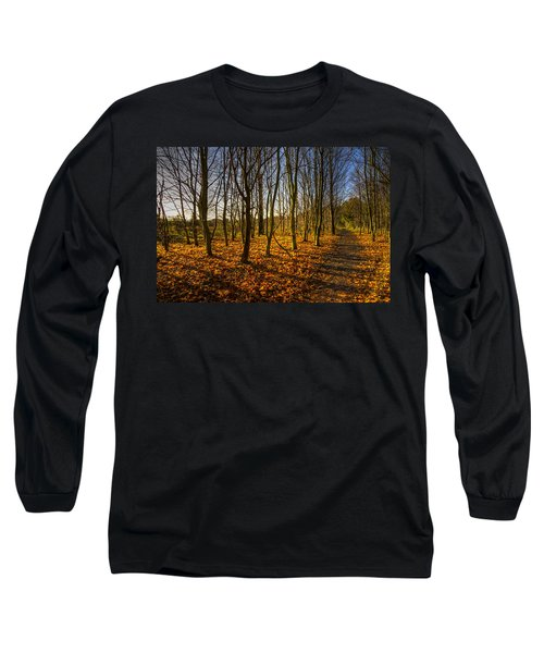 An Autumn Walk Long Sleeve T-Shirt