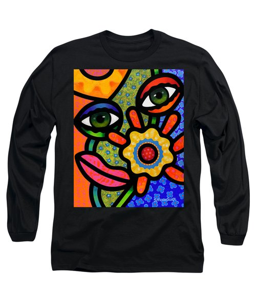 An Eye On Spring Long Sleeve T-Shirt