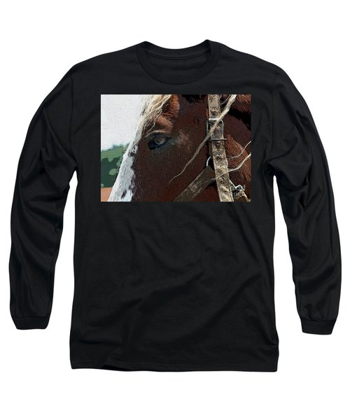 An Old Friend Long Sleeve T-Shirt by Yvonne Wright