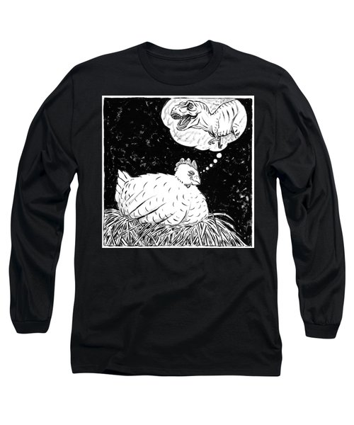 Ancestor Dreams Study Long Sleeve T-Shirt