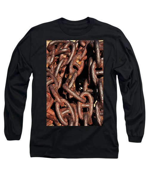 Anchor Chains Long Sleeve T-Shirt