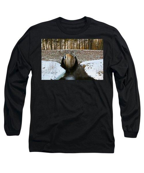 Ancient Bridge Long Sleeve T-Shirt by Kennerth and Birgitta Kullman