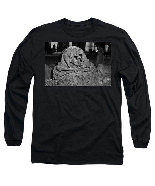 Ancient Gravestone Long Sleeve T-Shirt