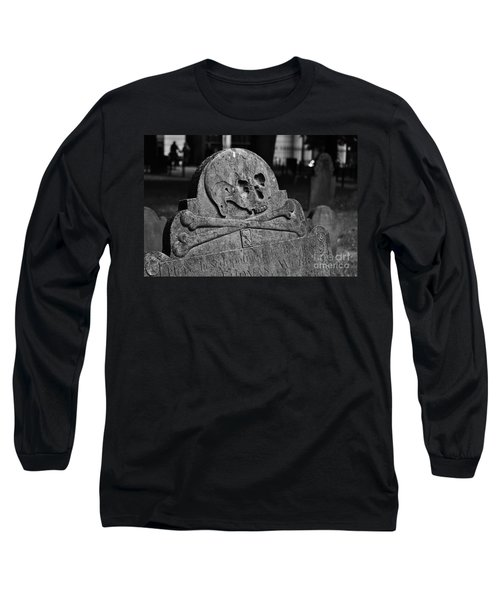 Ancient Gravestone Long Sleeve T-Shirt