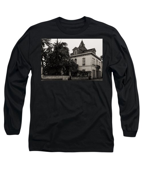 Ancient Hotel And Lush Trees  Long Sleeve T-Shirt