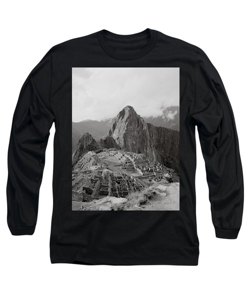 Ancient Machu Picchu Long Sleeve T-Shirt