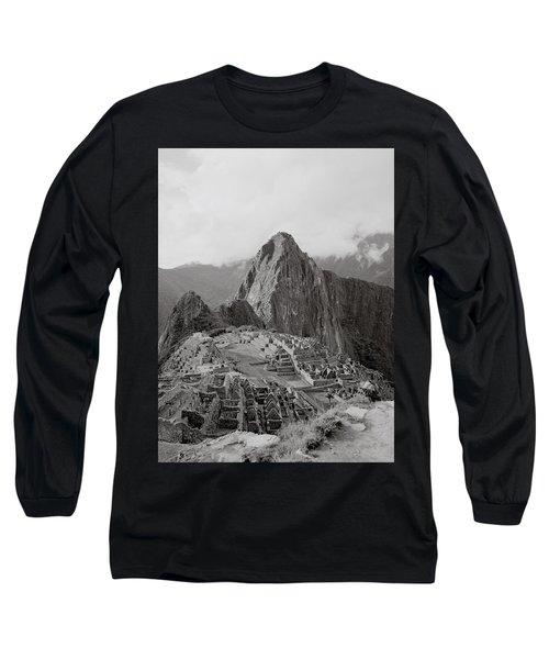 Ancient Machu Picchu Long Sleeve T-Shirt