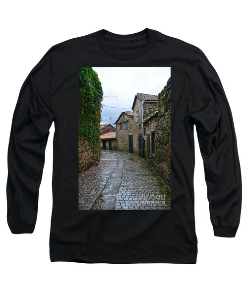 Ancient Street In Tui Long Sleeve T-Shirt