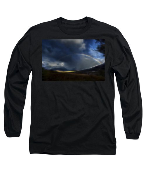 Andean Rainbow Long Sleeve T-Shirt by William Horden