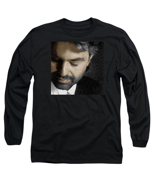 Andrea Bocelli And Square Long Sleeve T-Shirt