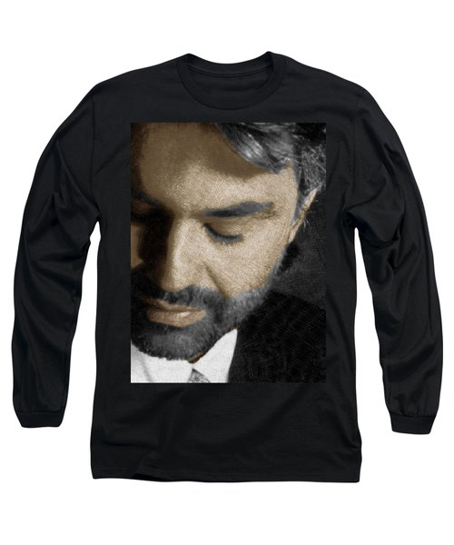 Andrea Bocelli And Vertical Long Sleeve T-Shirt