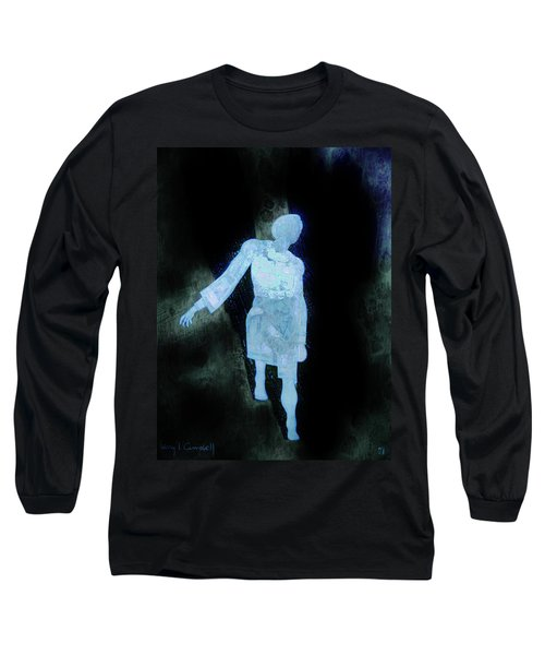 Oh That I Were An Angel  Long Sleeve T-Shirt by Larry Campbell